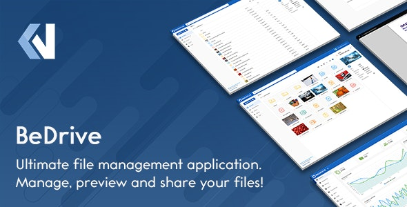 BeDrive – File Sharing and Cloud Storage