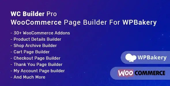 WC Builder Pro - WooCommerce Page Builder for WPBakery