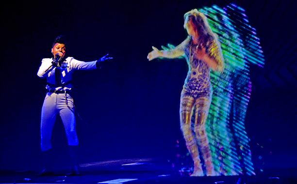 Watch: Janelle Monae & M I A  Team Up For Hologram Duet - JoJoCrews com