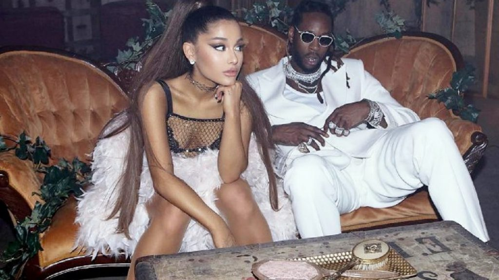 fe09a1afc6 New Video  2 Chainz   Ariana Grande Join Forces on Amerie Inspired  Rule  The World