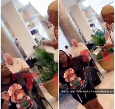 Who Gon' Check Me Boo: Woman Confronts, Reads Nene Leakes For Being Rude with Fans [Video]