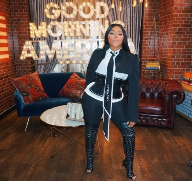 Watch: Lil Kim Dishes on Tour, New Album '9' and More at 'GMA' and 'Strahan, Sara, and Keke'