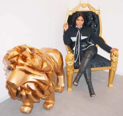 Lil Kim Teases 'Aunt Dot' Pt. 2, New Song w/Missy Elliott Both To Appear on '9' Pt. 2 at BUILD [Full Interview]