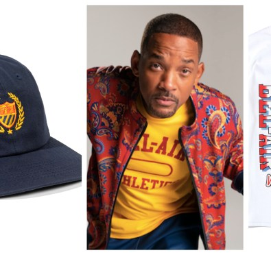 So Here For It: Will Smith Launches  Limited Edition Fresh Prince of Bel-Air Athletics Collection [Pics/Video]