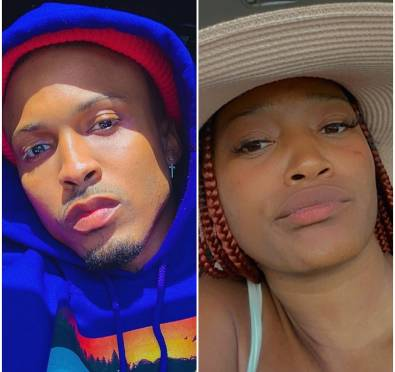 August Alsina & Keke Palmer Get Into Heated Exchange Over Keke Shading Throwback Pic Insinuating They Dated
