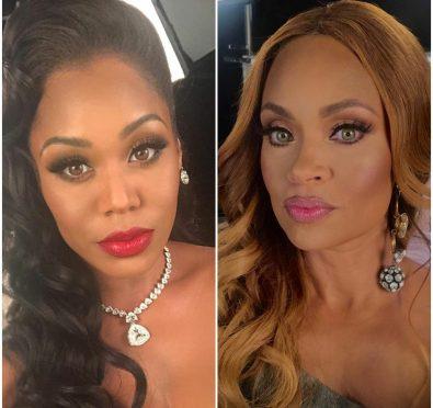 "Monique Samuels Claps Back  at Gizelle Bryant Over Shading Her Husband, Calls Jamal Bryant ""Pastor Holy Whore"""