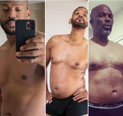 Marlon Wayans, Chris Spencer & More Share Their Dad-Bods/Join Will Smith For His 'Big Willie' 12 Week Fitness Challenge [Photos]