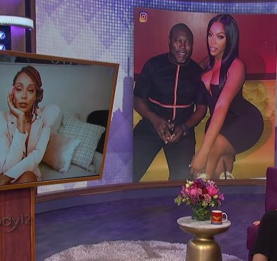 """Eva Marcille Visits 'Wendy' & Shades Porsha Williams """"I Do Not Like Porsha, We're Not Friends""""/Reacts To Her Engagement To Simon """"She Broke Girl Code"""" [Video]"""