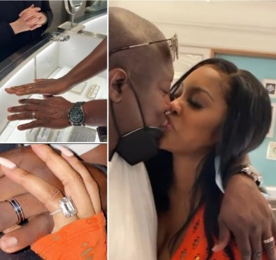 Crazy In Love! Porsha Williams Cops Fiancé Simon Guobadia His Own Engagement Ring In Vegas Ahead of Their Upcoming Wedding & Spinoff Series [Video]
