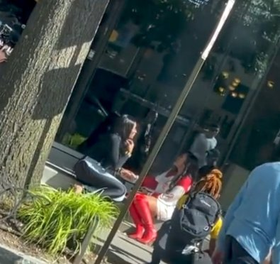 Drew Sidora & Marlo Hampton Spotted Filming For Season 14 of 'The Real Housewives of Atlanta' [Video]