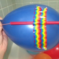 Kid science parties balloon