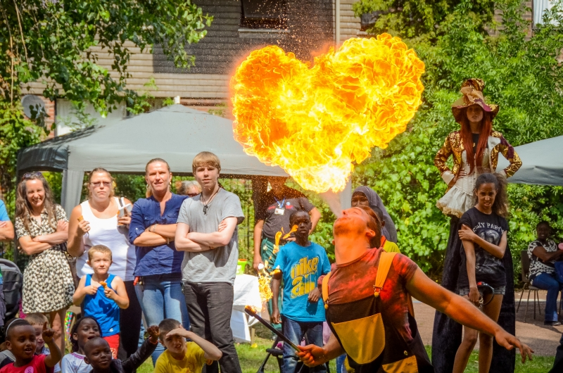 Hire Fire Performers in London