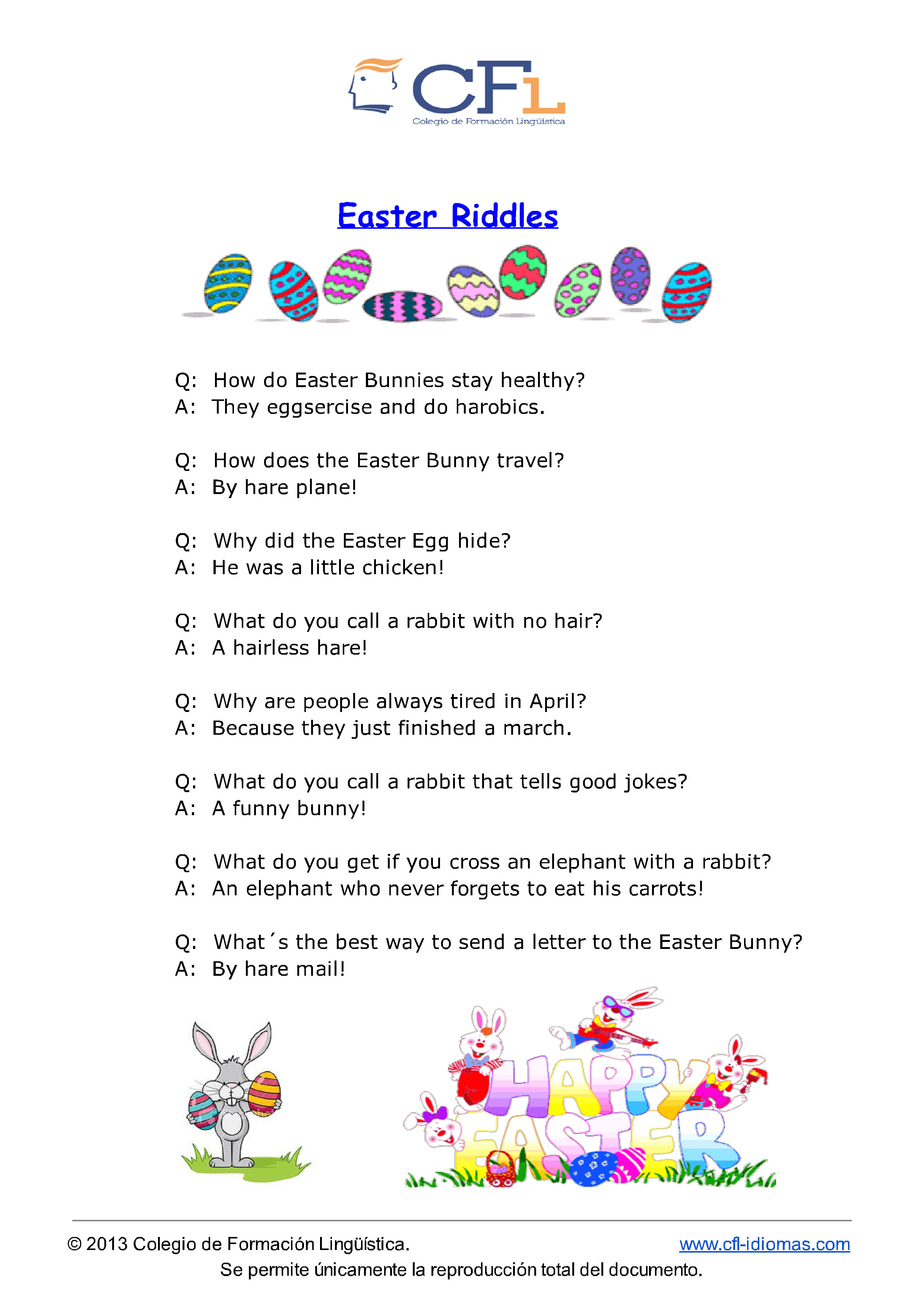 Spring Riddles And Jokes