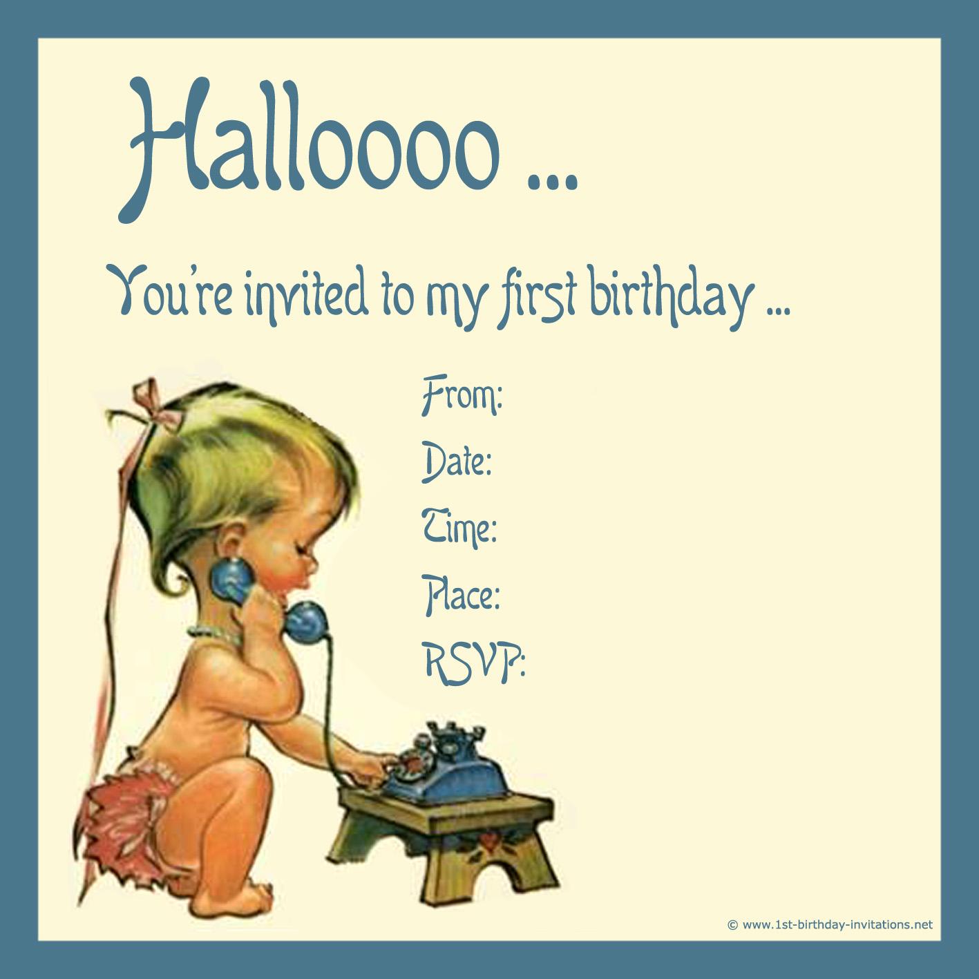 first birthday jokes