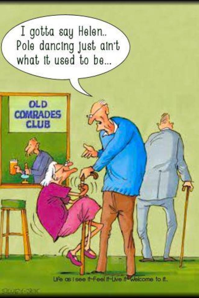 Over The Hill Getting Old Senior Citizen Humor Old Age Jokes