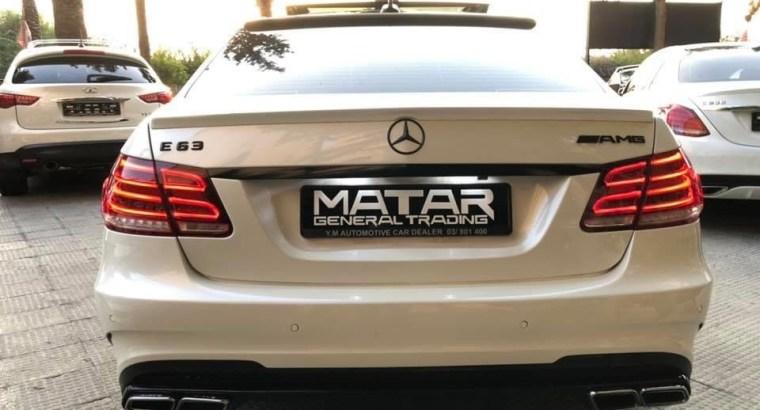 Mercedes E63 AMG look 2015