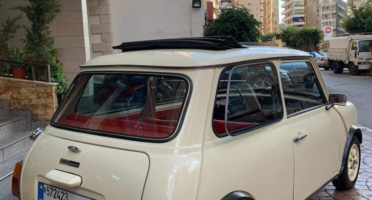 Mini Cooper Clubman 1100 MY 1981