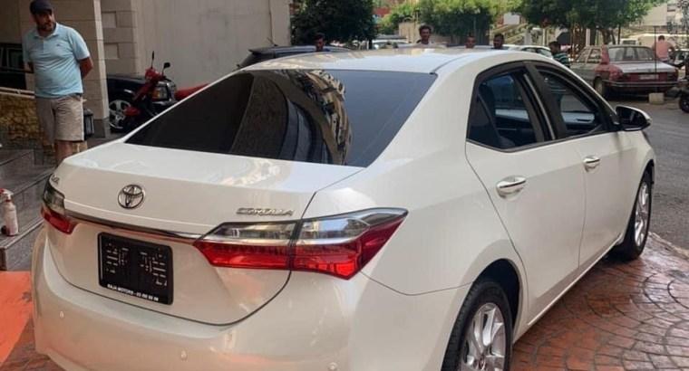 Toyota Corolla 2017 (BUMC)