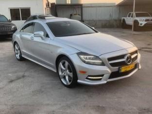 Mercedes CLS biturbo silver