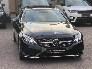 Mercedes C200 coupe AMG line 2016