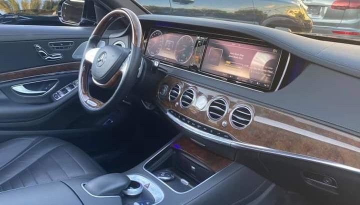 Mercedes S550 L AMG LINE 2014