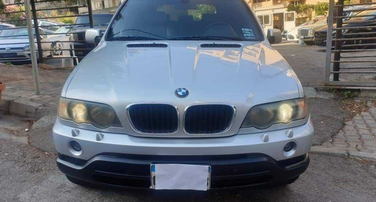 BMW X5 3.0 I 2001