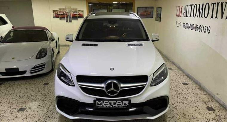 Mercedes ML 350 GLE 63 2014