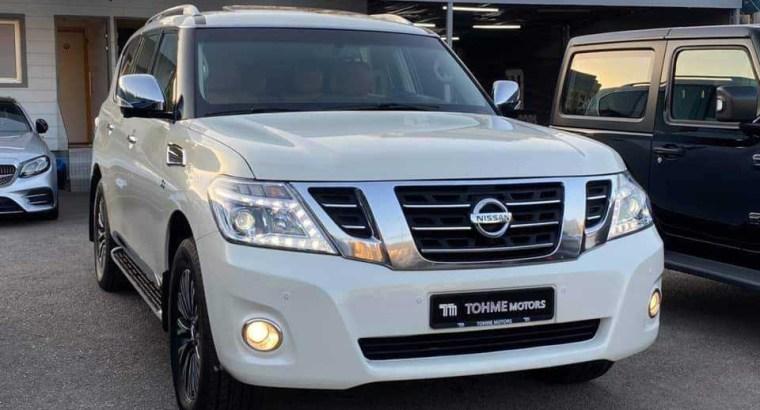 Nissan Patrol Platinum V8 2014
