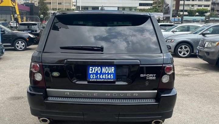 Range Rover Sport HSE 2008
