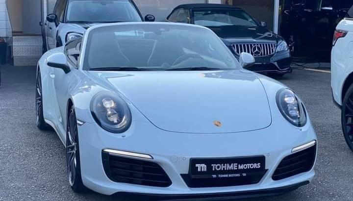 Porsche 911 Carrera 4S Cabrio 2017