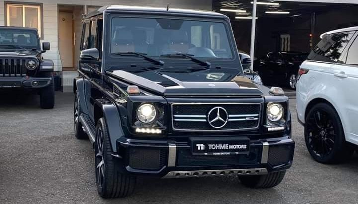 Mercedes G 63 AMG 2016