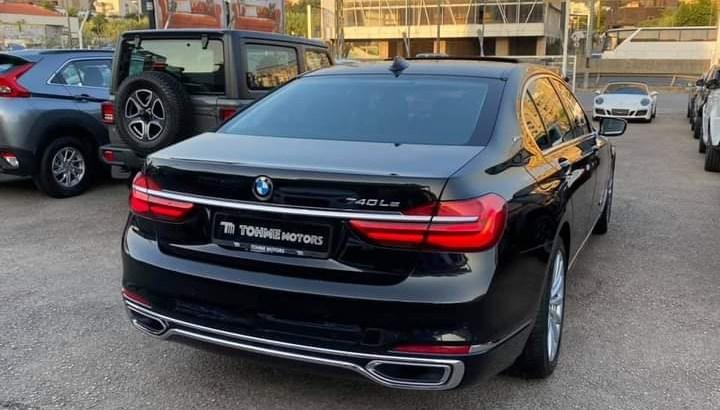 BMW 740 LE 2019