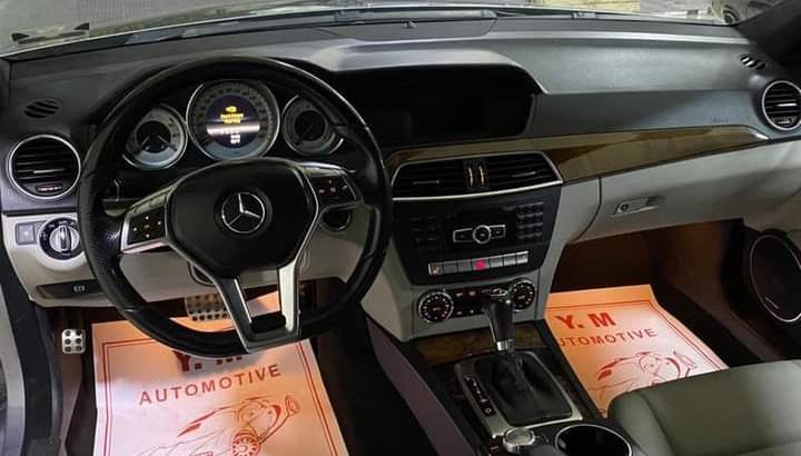 Mercedes C 250 look AMG 2013