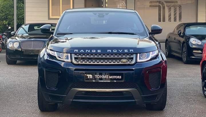 Range Rover Evoque convertible 2018