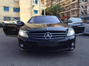 Mercedes CL 2007 Look AMG
