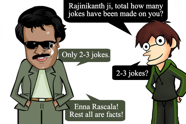 Rajnikant Jokes