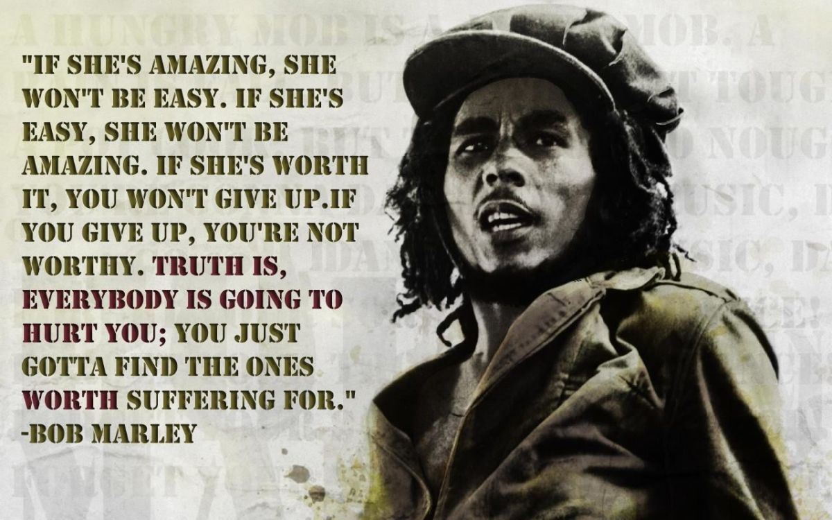 Bob Marley Quotes About Friendship Bob Marley Quotes