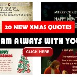 I Am Always With You – XMAS Quotes