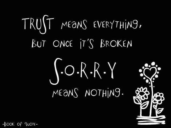 trust broken quotes