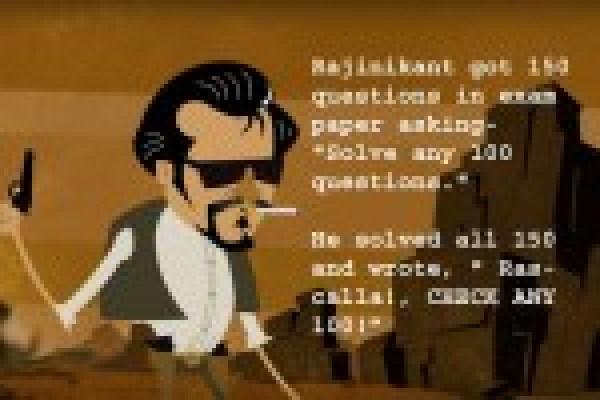 Latest Rajnikanth Jokes