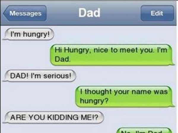 lame joke