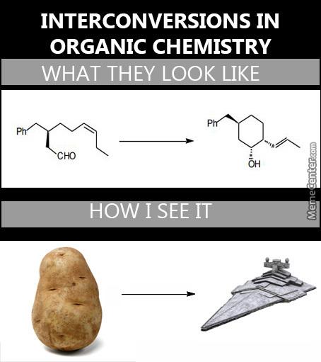 organic chemistry jokes