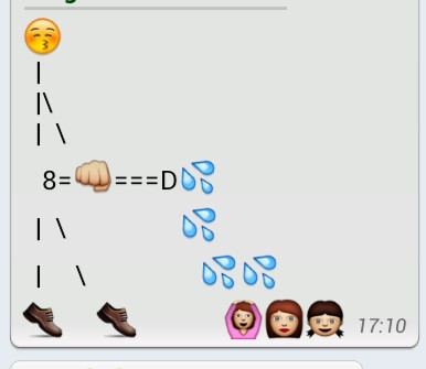 funny whatsapp messages with smileys