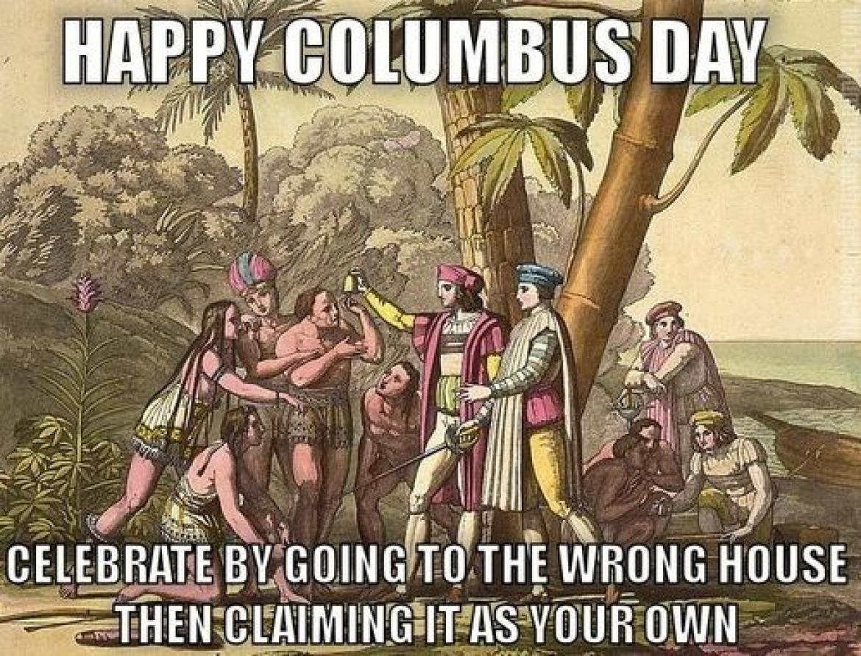 History Jokes Christopher Columbus