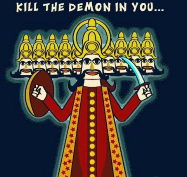 kill the demon in you