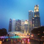 Dia 1, 2 e 3. Primeira paragem: Singapura