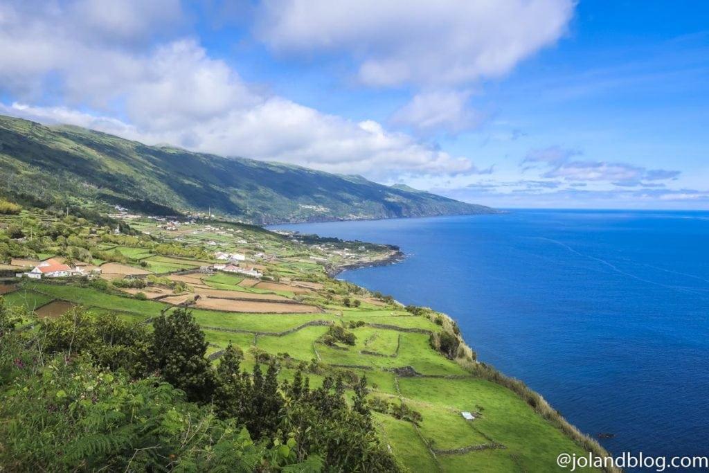Vista sobre Ilha do Pico, Açores - Encaminhamento Inter-Ilhas