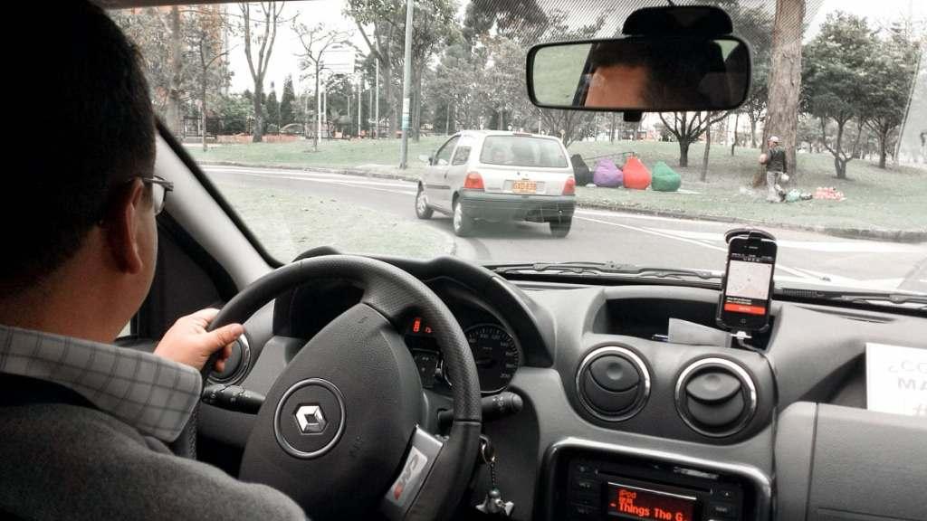 Uber em Bogotá - Viajar dentro da Colômbia