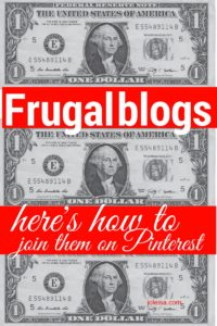 If you are a new frugal blogger or you have a few money saving related posts, you will find this a good resource