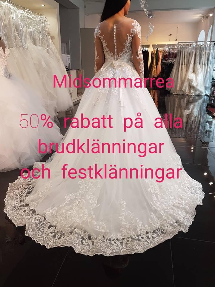 midsommarrea Brudklänning, balklänning, festklänningar, tärnklänning, näbbklänning, Rea